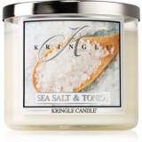 Kringle Candle Sea Salt & Tonka lumânare parfumată I.