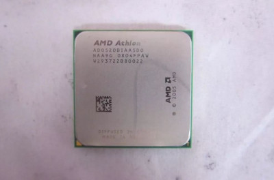 Procesor AMD Athlon 64 X2 5200B 2,7Ghz Brisbane Socket AM2 foto