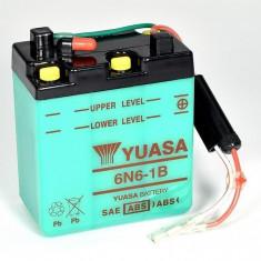 Yuasa baterie motocicleta 6N6-1B 99x57x111 6V 6Ah