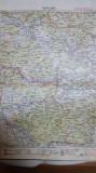 Harta Lugoj, Brad, Munții Bihorului, Regele Carol, Rusca Montană, 1927