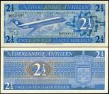 Antilele Olandeze 1975 - 2,5 gulden UNC