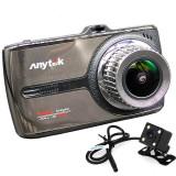 Camera auto DVR iUni Dash 66G, Touchscreen, Display IPS 3.5 inch, Dual Cam, Full HD, WDR, 170 grade, by Anytek