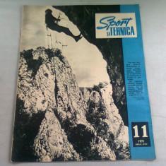 REVISTA SPORT SI TEHNICA NR.11/1971