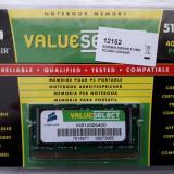 NOTEBOOK MEMORY CORSAIR DDR1 512MB PC3200