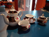 Set ceai sau cafea portelan fin Cehia