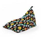 Cumpara ieftin Fotoliu Units Puf (Bean Bag) tip lounge, impermeabil, cu maner, 155 x 83 x 65 cm, mingi