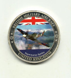 "Marea Britanie- BRITISH MILITARY  ""SUPERMARINE SPITFIRE"" - PROOF"