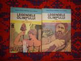 Legendele Olimpului eroi,zeii 2volume - Alexandru Mitru cartonate,1983,509pagini