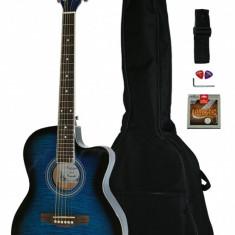 Chitara electro acustica Western Santander WS 55 4EQ acordor integrat
