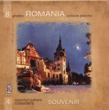Set 4 Suporturi Pahare Imagini Romania | Age Art