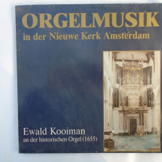 Muzica de orga - Catedrala din Amsterdam disc vinil OLANDA