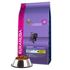 Cumpara ieftin Hrana uscata pentru caini, Eukanuba Puppy Junior Large, Pui, 15 kg