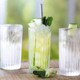 Set 6 pahare long drink RCR Timeless 440 ml