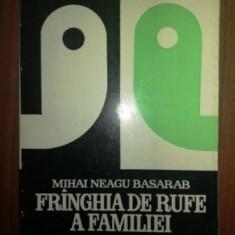 Fringhia de rufe a familiei- Mihai Neagu Basarab