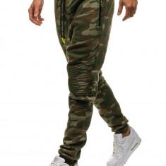 Pantaloni de trening camuflaj multicolor Bolf 3771C