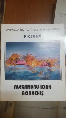 Alexandru Ioan Boanchiș, Album pictură, Date biografice foto