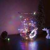 Sir de lumini LED de Craciun - 5 m -50 LED - multicolor, 3xAA Best CarHome