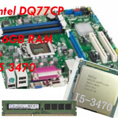 KIT Proscesor I5 3470 + placa de baza intel + 16GB RAM SAMSUNG