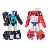 Transformers Siege Red Heat & Stakeout 4 cm