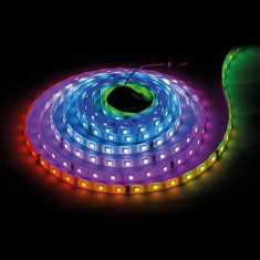 BANDA LED 24V RGBW 60 LED M LUMINA CALDA INTERIOR PREMIUM 19W