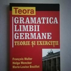 Gramatica limbii germane - teorie si exercitii