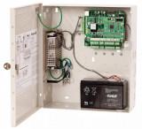 Centrala de acces Honeywell NetAXS-123 NX2MPS suporta 6cititoarepentru3usi, contine cutie metalica cu sursa si acumulator debackup. 3-doorNetAXS-123 c