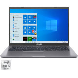 Laptop ASUS X509JA, 15.6 FHD, Intel Core i5-1035G1, 8GB, 256GB SSD, Intel UHD 620 , Windows 10 Home, Slate Gray