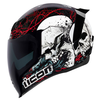 Casca integrala Icon Airflite Skull 18 marimea XL Cod Produs: MX_NEW 010111201PE foto