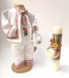Cumpara ieftin Set Traditional Botez Baiat - Costumas + Lumanare 2