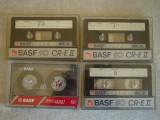 Lot 4 Casete Audio BASF CrO2 si Normal - Inregistrate o singura data - 34