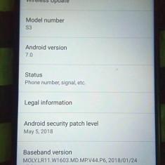 Bluboo S3 (schimb), Negru, 64GB, Neblocat