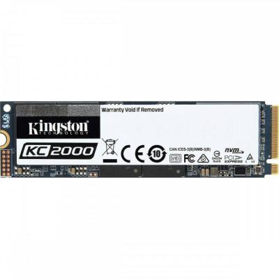 SSD Kingston KC2000 2TB M.2 2280 NVMe PCIe foto