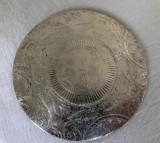 Suport argintat de provenienta suedeza pentru vase calde (4)