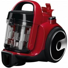 Aspirator fara sac Bosch BGC05A322, 700 W, 1.5 l, filtru EPA12, perie parchet, duza 2in1, chili red