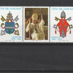 Heraldica ,Vatican., Religie, Nestampilat