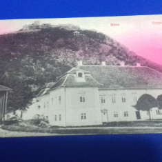 Carte postala   Deva  1911, Circulata, Fotografie