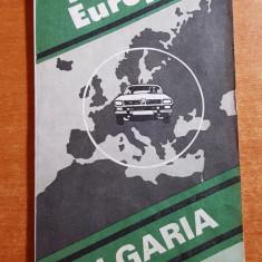 harta bulgaria 1995