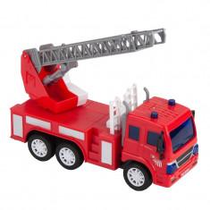 Masina de pompieri Fire Engine, sunete si lumini