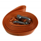 Chinga remorcare sufa ancorare si/sau ridicare chinga tractare 4 Tone 4 metri 50mm culoare orange Kft Auto