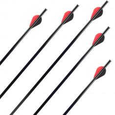 Set sageti aluminiu arbaleta X-Bow Air Black foto