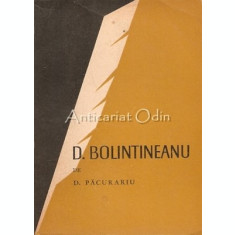 D. Bolintineanu - D. Pacurariu