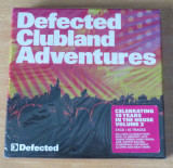 Defected Clubland Adventures Compilation 3CD (Bob Sinclar, Yass, Ame, Outwork), CD