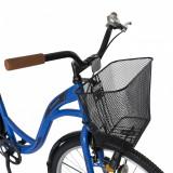 Bicicleta City 28 inch Velors Ukraina CSV2894F albastru negru