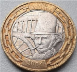 Moneda jubiliara Anglia - 2 lire 2006 - BRUNEL (1), Europa, Cupru-Nichel