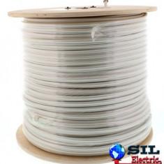 Cablu coaxial RG6 cu sufa 75R cupru ecranat cu folie Al -fire CU 48X0.12, Well