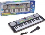 Orga muzicala electrica pentru copii, cu microfon, 37 clape, 35 cm