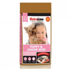Nutraline Dog Puppy&Junior Mini, 8kg, hrana caini juniori talie mica