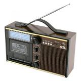 Radio casetofon portabil USB SD, functie arhivare mp3 si caseta, microfon, Jack 3.5 mm