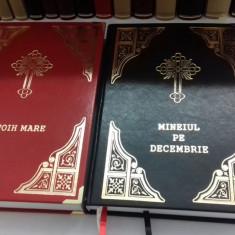 Mineiul pe decembrie în piele, Liturghier, Octoih Mare, Molitfelnic, Triodul