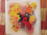 "Goblen cu pietre ""Narcise si citrice"""